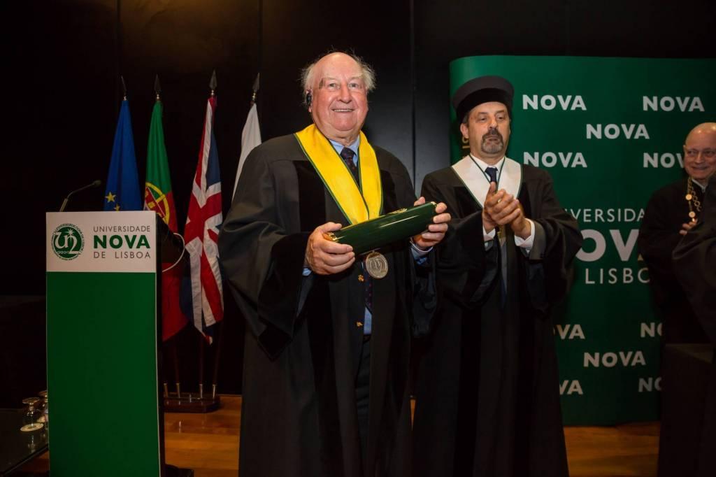 Prof. Robert Anderson e Prof. João Sàágua