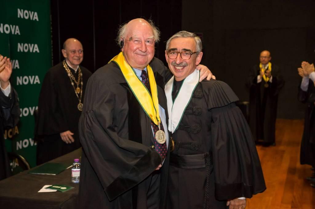 Prof. Robert Anderson e Prof. José Fragata