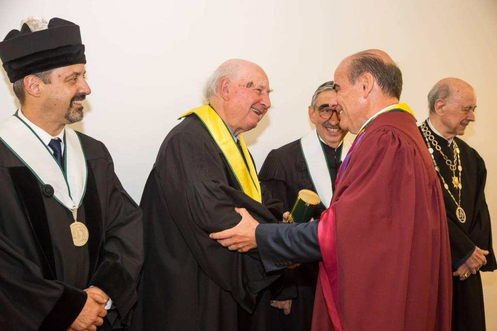 Prof. João Sàágua, Prof. Robert Anderson e Prof. António Rendas
