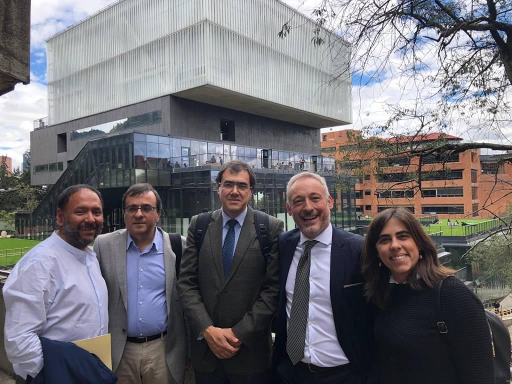 NOVA's visit to Universidade Javeriana