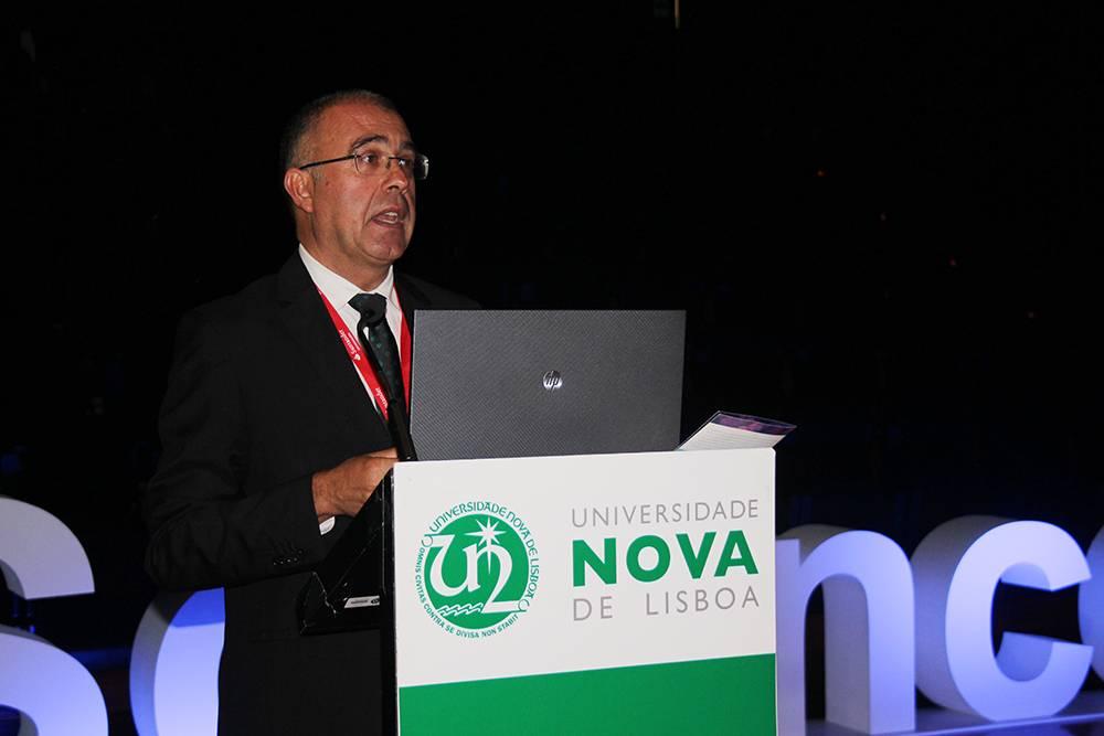 Professor Miguel Pina e Cunha, em representação da Nova School of Business & Economics