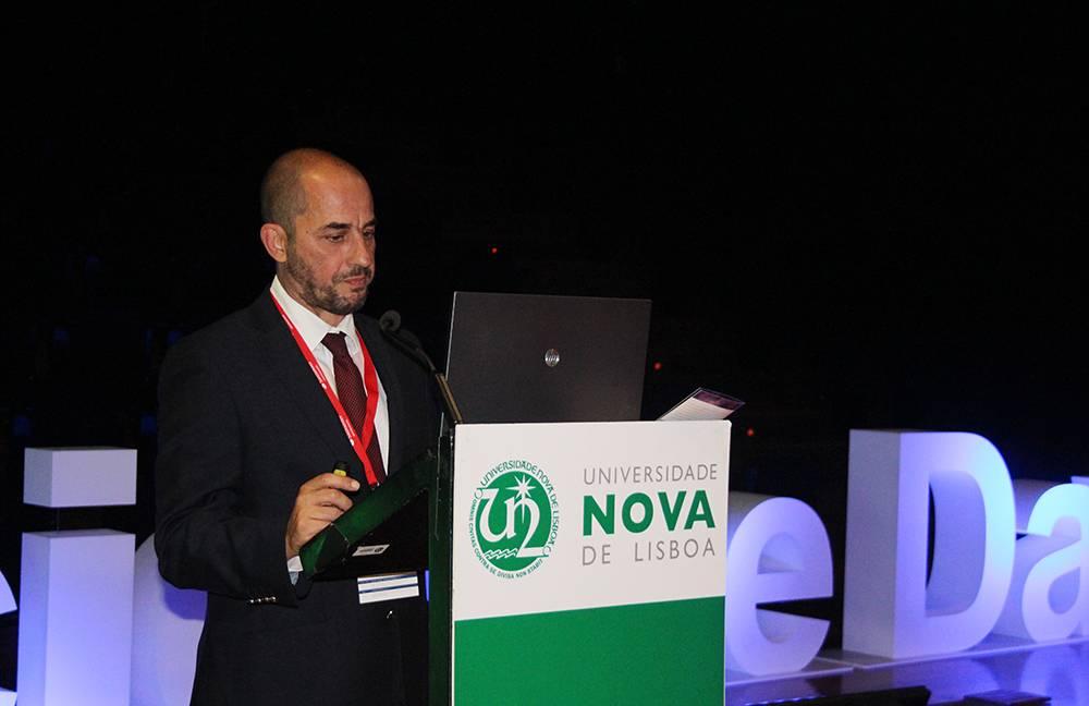 Professor Fernando Bação, em representação da NOVA Information Management Shcool