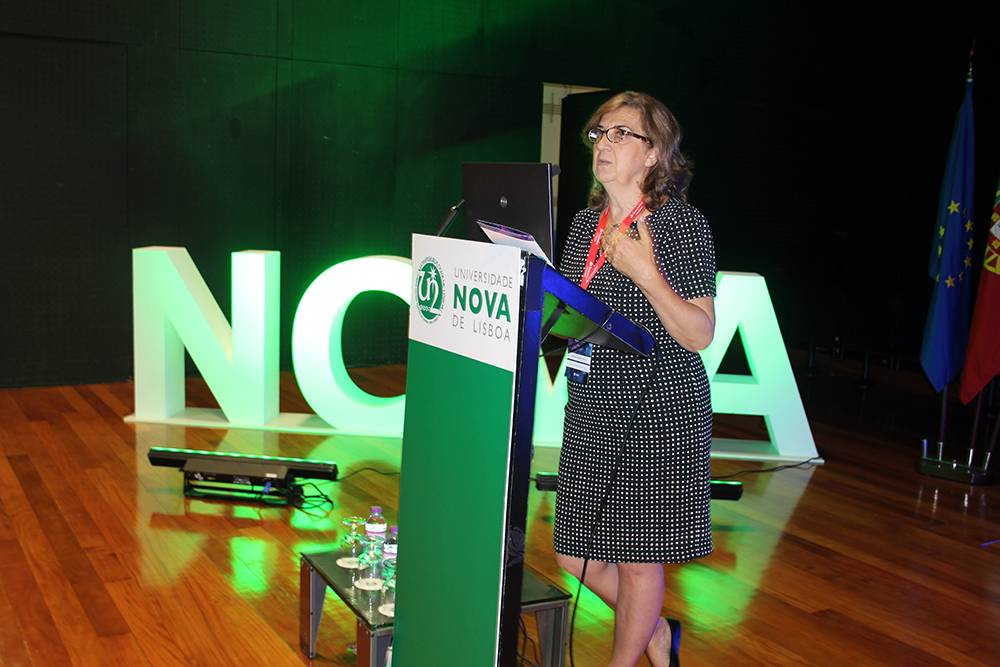 Professora Patrícia Rosado Pinto, Pró-Reitora da NOVA