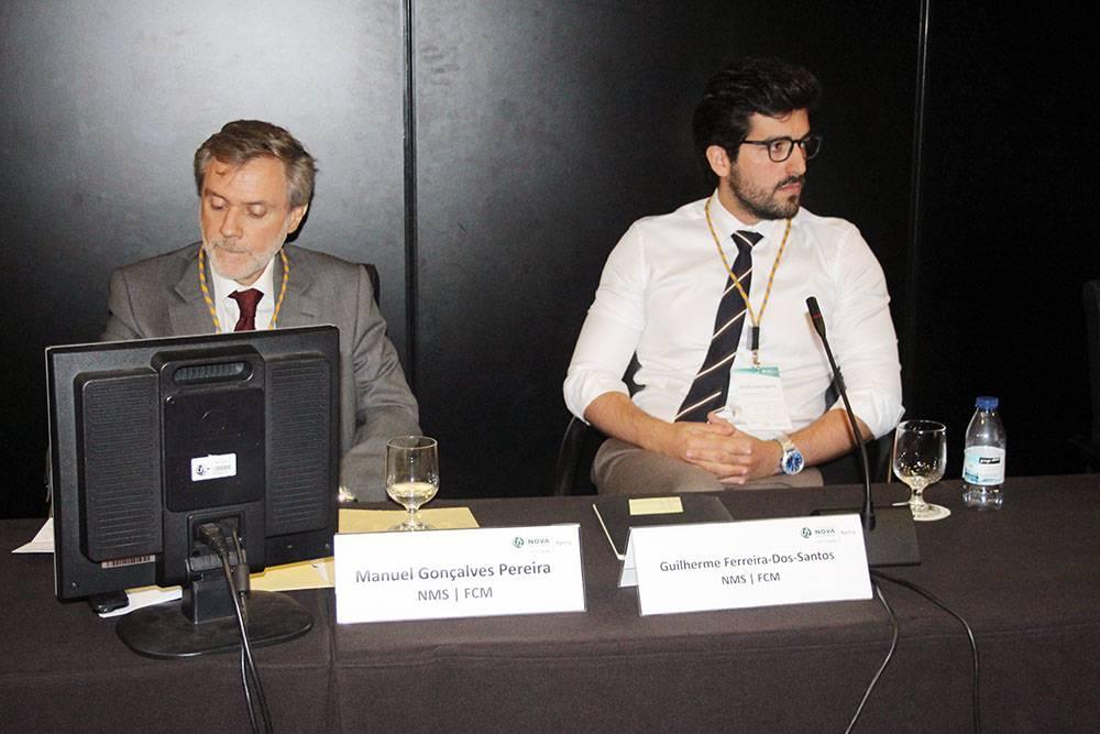 Manuel Gonçalves Pereira e Guilherme-Ferreira-Dos-Santos, ambos da NMS|FCM