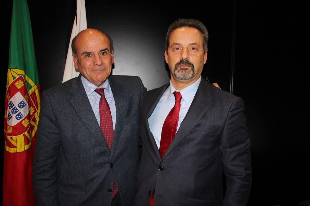 Prof. António Rendas e Prof. João Sàágua
