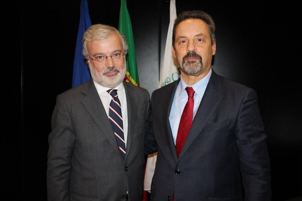 Dr. António José Teixeira e Prof. João Sàágua