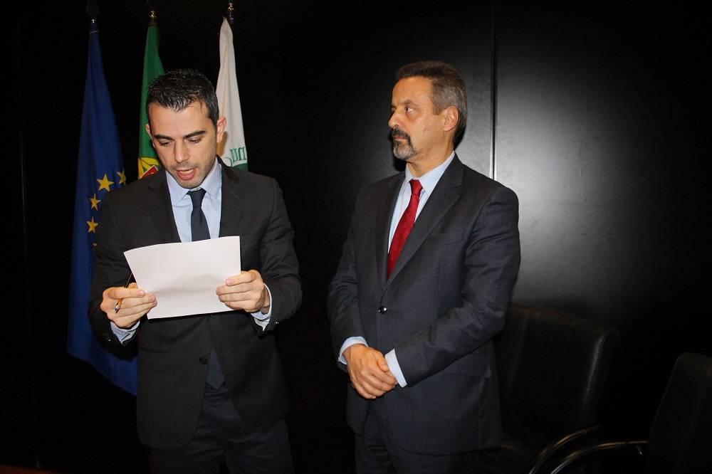 Prof. João Valente Cordeiro e Prof. João Sàágua