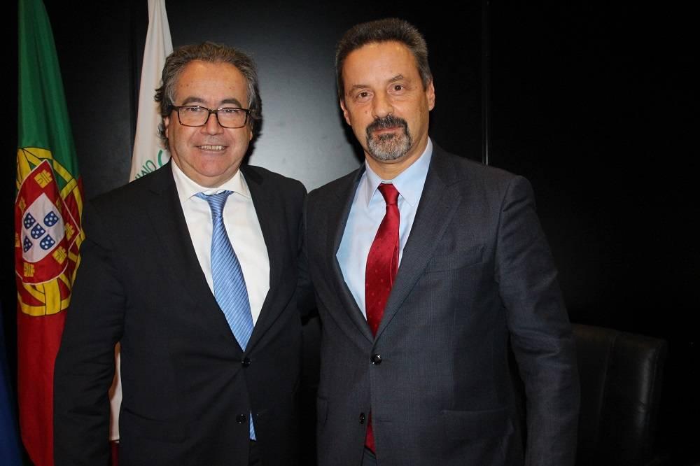 Prof. José João Abrantes e Prof. João Sàágua