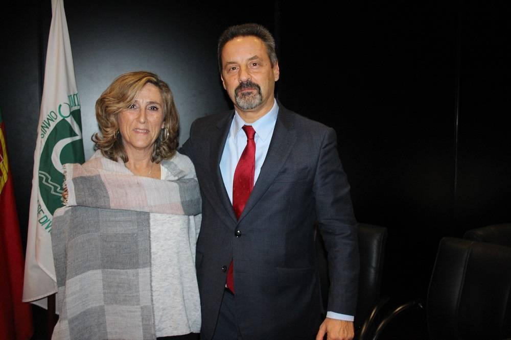 Prof.ª Maria Rosário Oliveira Martins e Prof. João Sàágua