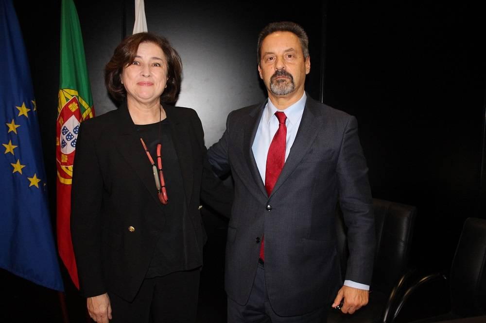 Dr.ª Paula Martinho da Silva e Prof. João Sàágua