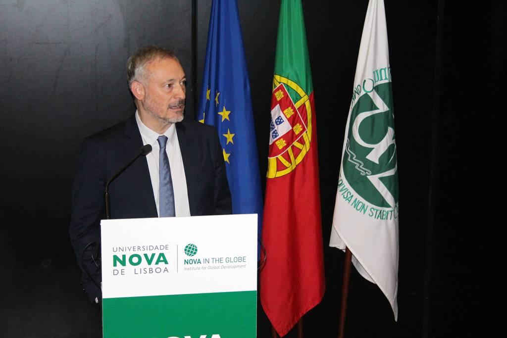 Prof. João Amaro de Matos, Vice-Rector of NOVA