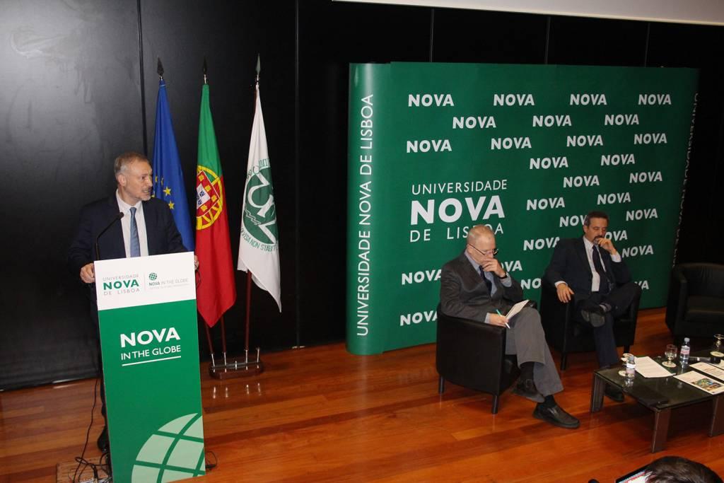 Prof. João Amaro de Matos, Vice-Reitor of NOVA