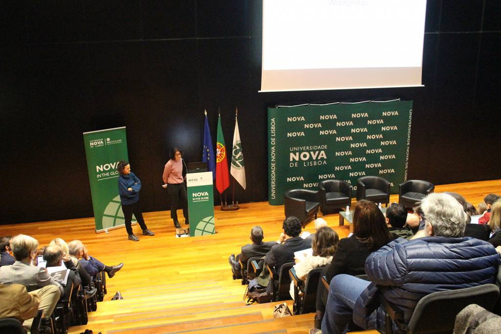 Presentation of collaborative opportunities by researchers of NOVA and Lancaster