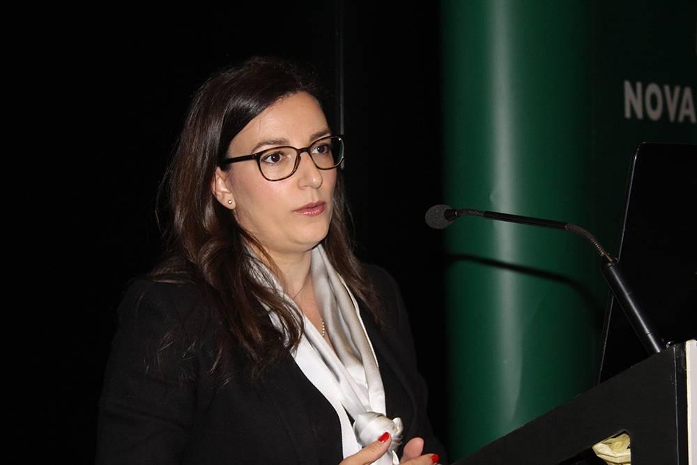 Dr.ª Silvia Gomez Recio, Secretária Geral da YERUN