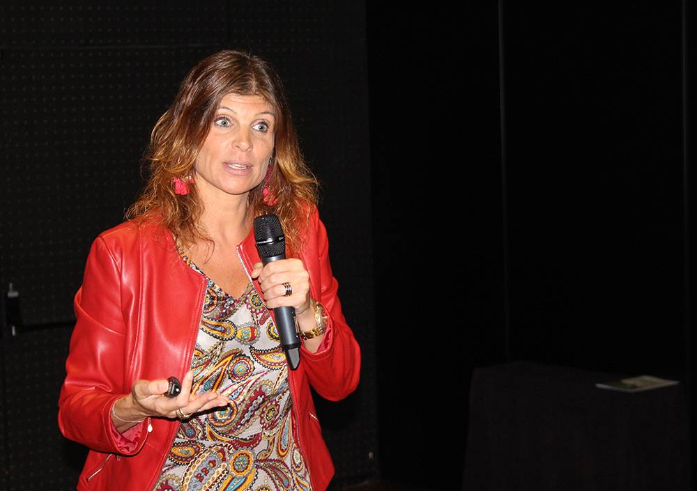 Dr.ª Patrícia Calado, the national contact point for the H2020 program