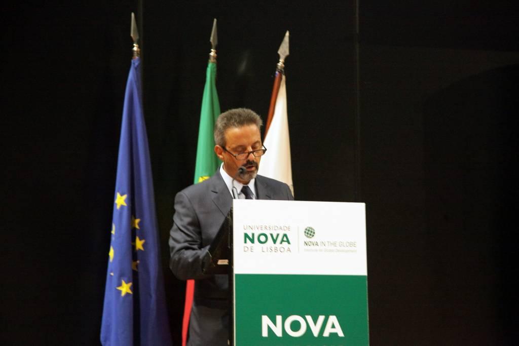 Prof. João Sàágua, Rector of NOVA