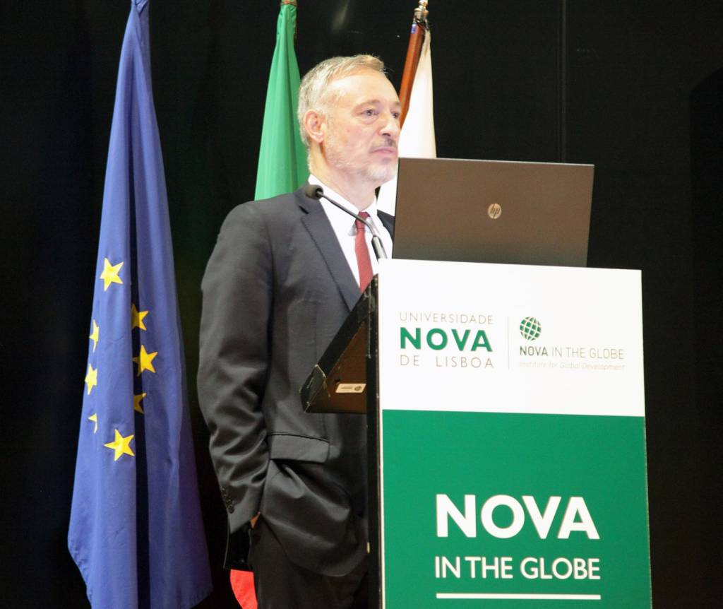Prof. João Amaro de Matos, Vice-Rector of NOVA