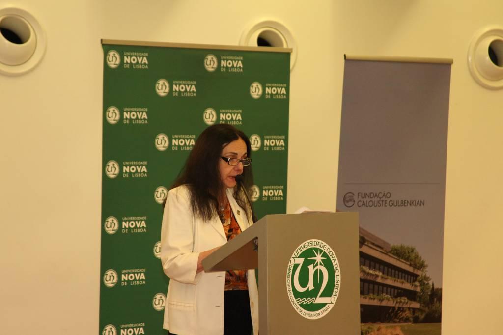 Professora Zulmira Hartz, em representação Director do IHMT NOVA