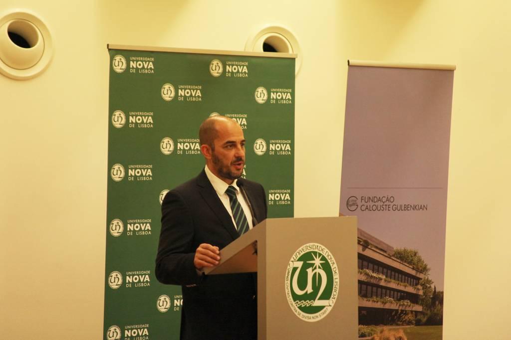 Professor Fernando Bação, em representação Director NOVA IMS