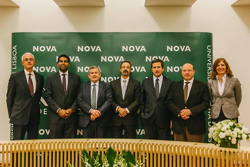 Pedro Santa Clara, Daniel Traça, Vasco de Mello, João Sàágua, Salvador de Mello, Jaime da Cunha Branco e Belén de Vicente