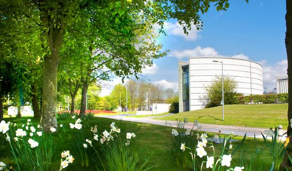 Campus of Lancaster University in the United Kingdom
