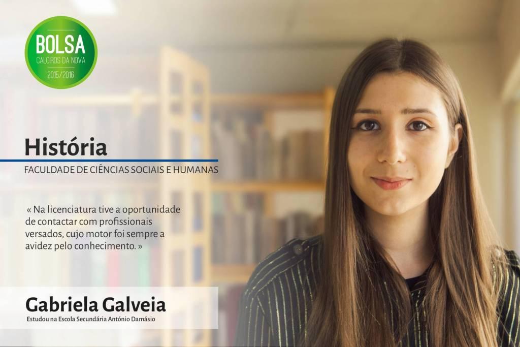 Gabriela Galveia, Faculdade de Ciências Sociais e Humanas da NOVA