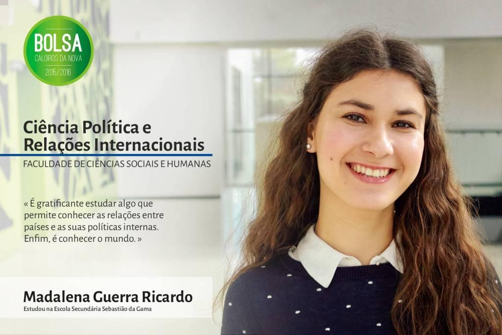 Madalena Guerra Ricardo, Faculdade de Ciências Sociais e Humanas da NOVA