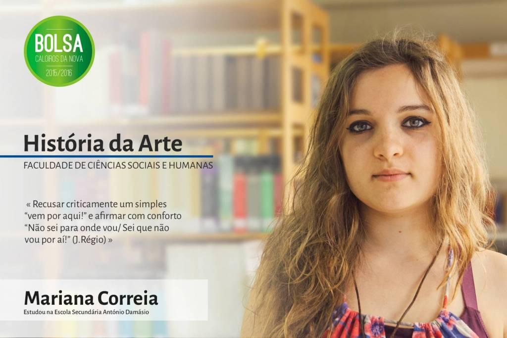 Mariana Correia,  Faculdade de Ciências Sociais e Humanas da NOVA