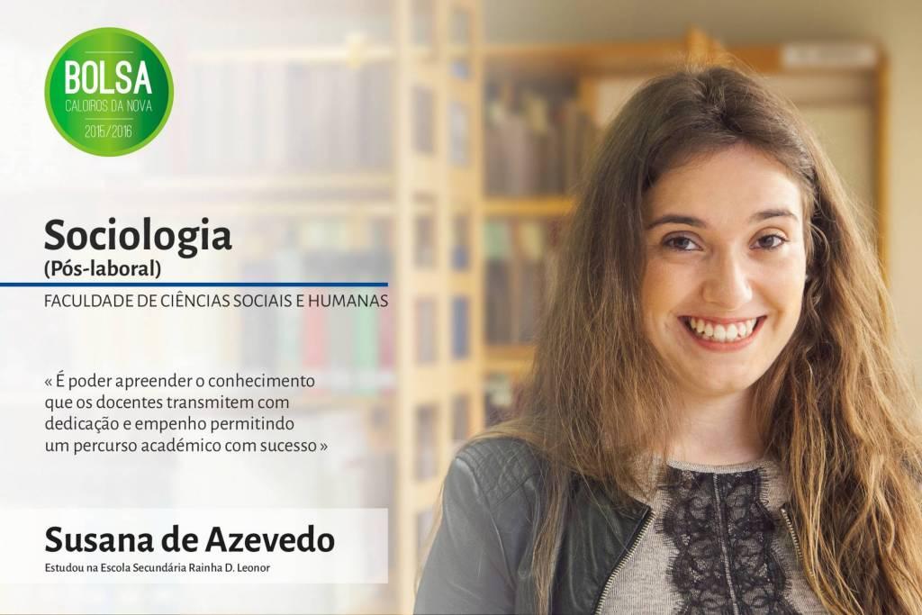Susana de Azevedo, Faculdade de Ciências Sociais e Humanas da NOVA