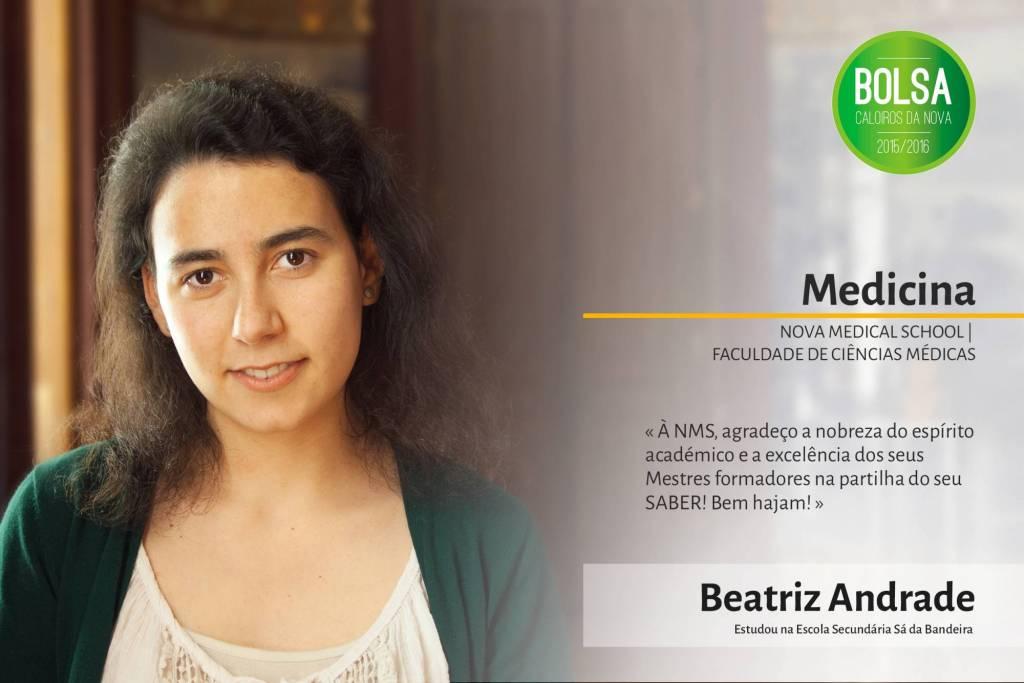 Beatriz Andrade, NOVA Medical School/Faculdade de Ciências Médicas