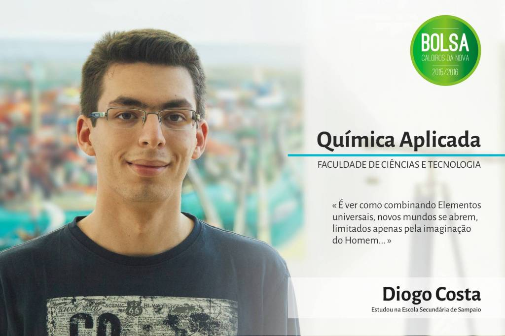 Diogo Costa, Faculdade de Ciências e Tecnologia da NOVA