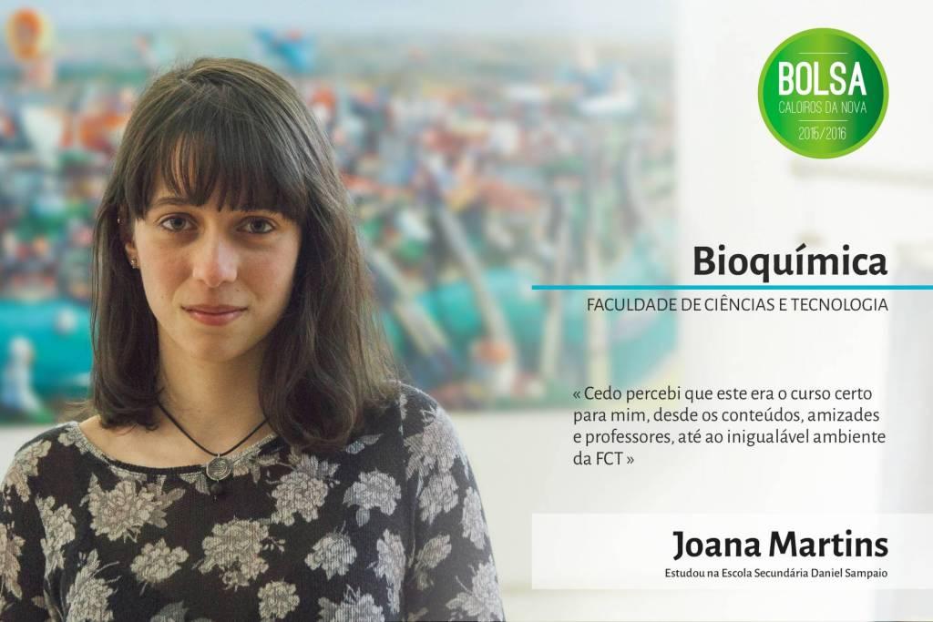 Joana Martins, Faculdade de Ciências e Tecnologia da NOVA
