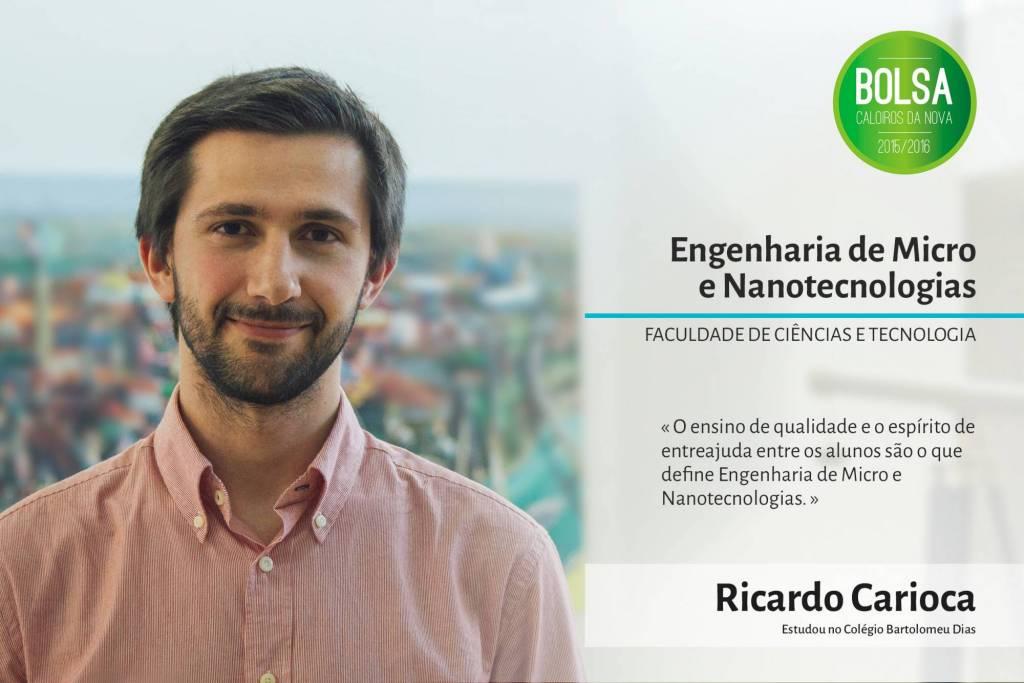 Ricardo Carioca, Faculdade de Ciências e Tecnologia da NOVA