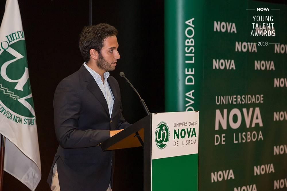 António Lourenço, antigo aluno da NOVA Medical School|Faculdade de Ciências Médicas da Universidade NOVA de Lisboa