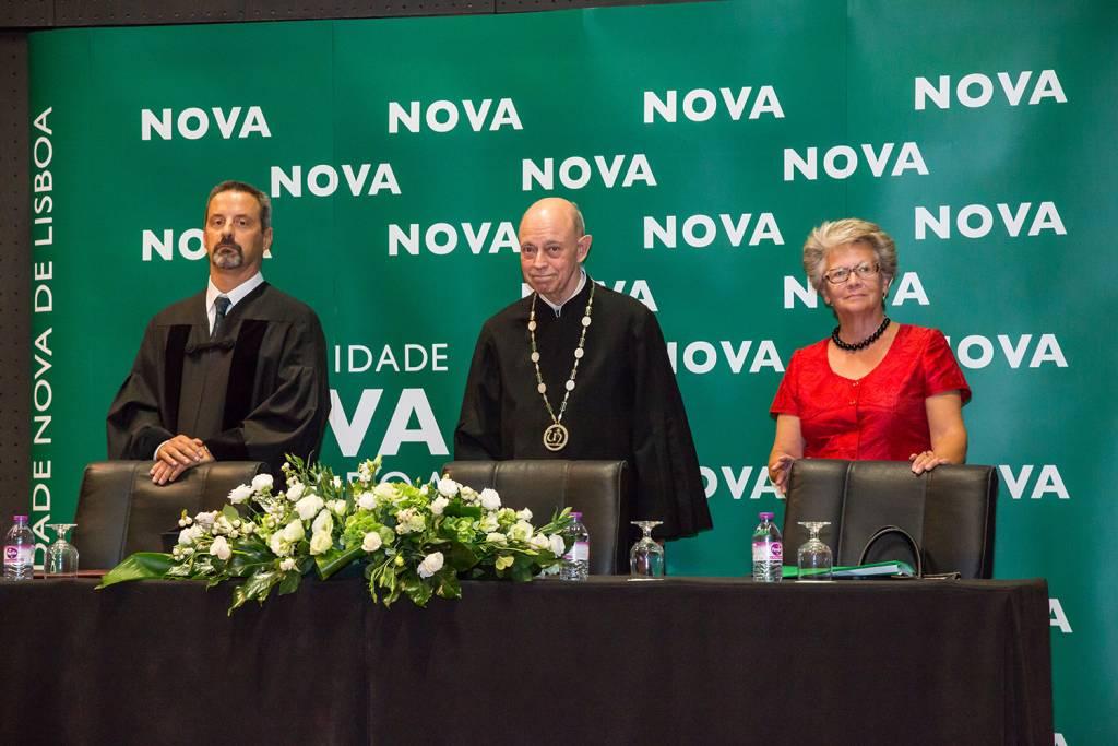 João Sàágua, Eduardo de Arantes e Oliveira and Maria Helena Nazaré