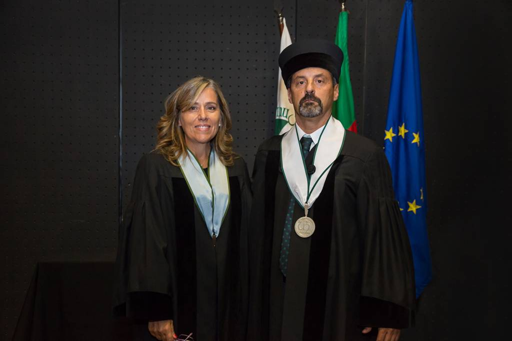 Isabel Nunes and João Sàágua