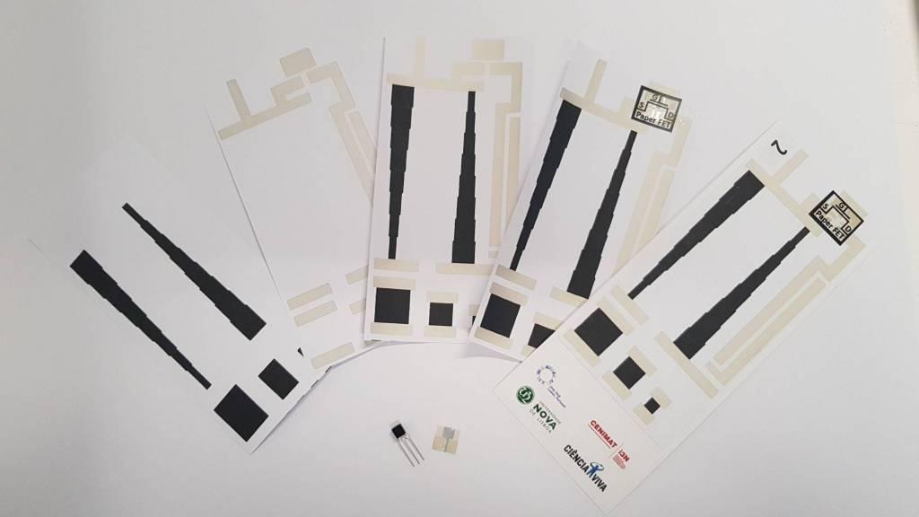 Paper transistors