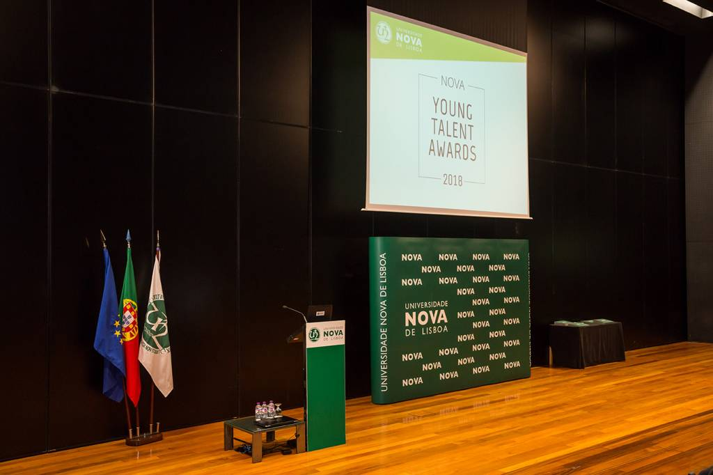 Cerimónia de entrega dos NOVA Young Talent Awards 2018