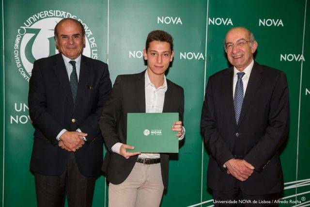 Reitor da NOVA, Duarte Carreira-estudante de Engenharia Física e Diretor Faculdade de Ciências e Tecnologia da NOVA