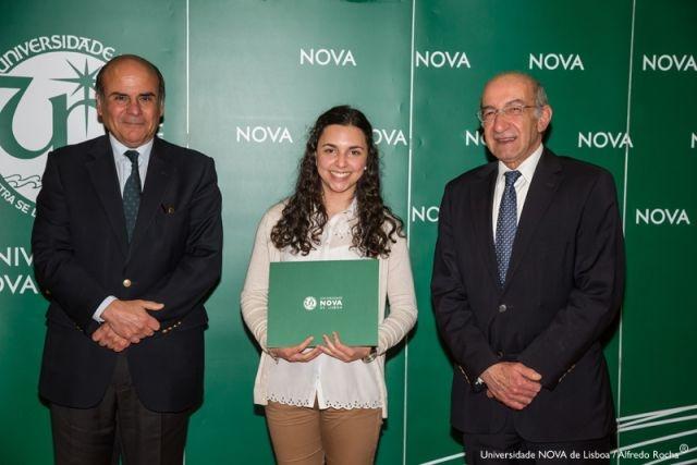 Reitor da NOVA, Ana Carina Tavares-estudante de Engenharia e Gestão Industrial e Diretor Faculdade de Ciências e Tecnologia da NOVA