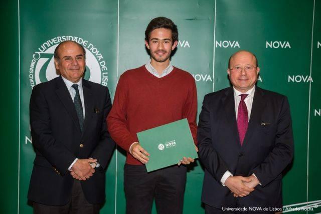 Reitor da NOVA, Miguel Santos-estudante de Medicina e Diretor NOVA Medical School/ Faculdade de Ciências Médicas