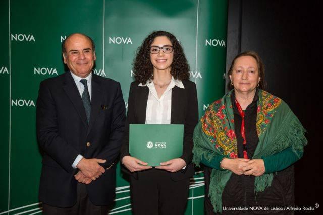 Reitor da NOVA, Sara Ferreira-estudante de Direito e Diretora Faculdade de Direito da NOVA