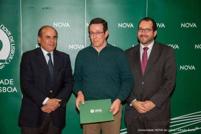 Reitor da NOVA, Carlos Do Bom Sucesso-estudante de Sociologia, e Diretor da Faculdade de Ciências Sociais e Humanas da NOVA