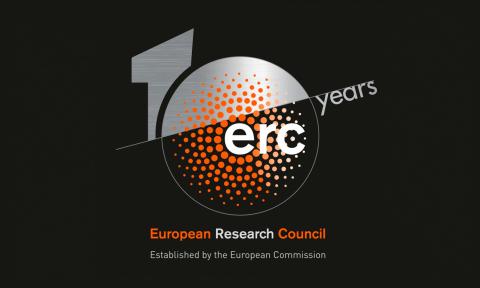 10 anos ERC logo