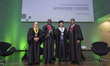 Dr. Denis Mukwege, médico e Nobel da Paz, doutoramento honoris causa