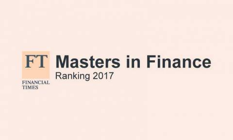 FT Ranking Masters in Finance 2017
