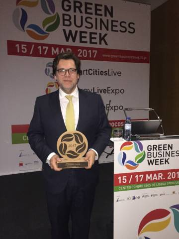 "Miguel Castro Neto - Prémio Personalidade do ano ""Smart Cities"""