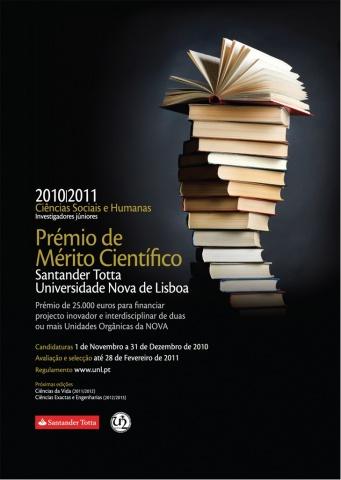 4.ª edição do Prémio Santander Totta/Universidade Nova de Lisboa