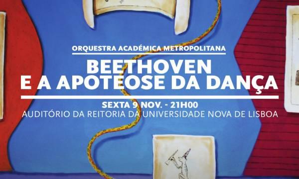 Cartaz do Concerto Beethoven e a Apoteose da Dança