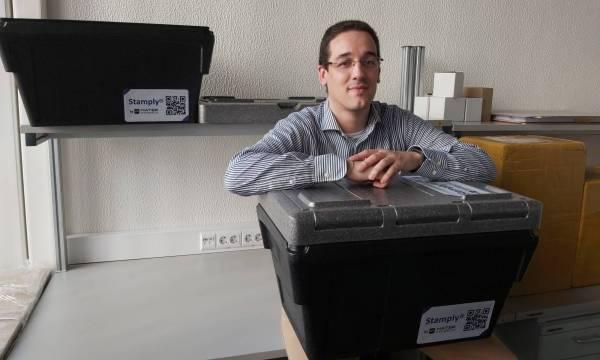 Tiago Cunha Reis e a Stamply Box